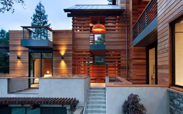 Дизайн домов в стиле хай тек - финская отделка фасада