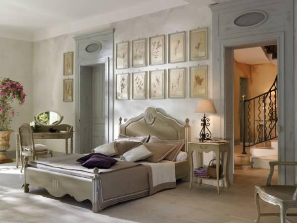 Интерьер спальни прованс - фото с идеями оформления