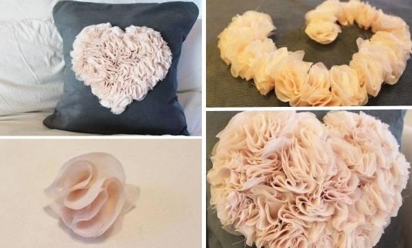 Как сделать диванные подушки своими руками - фото разных способов