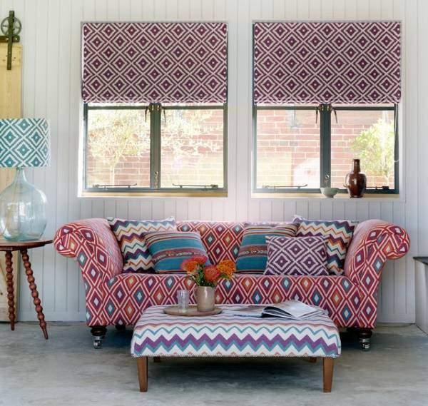 Красивая комната в индийском стиле