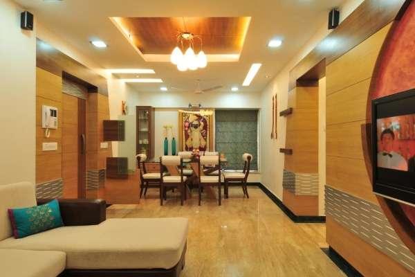 Интерьер квартиры в современном индийском стиле - фото