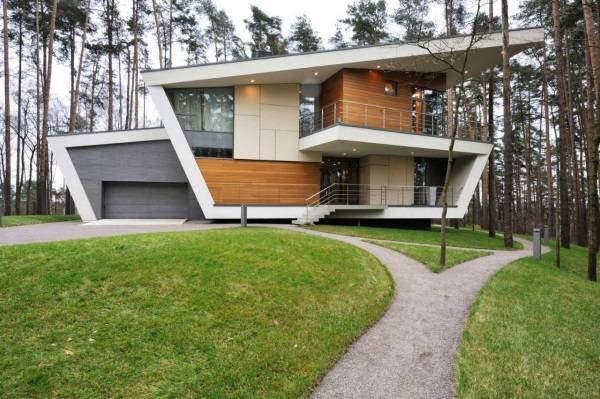 Строительство дома в стиле хай тек - идеи для дизайна