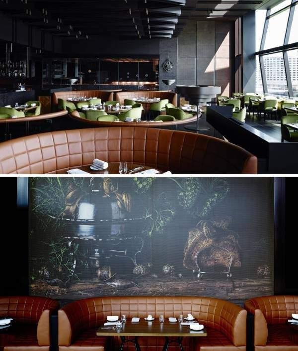 Оформление кафе и ресторанов в стиле luxury