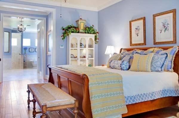 Ремонт спальни в стиле прованс - лучшие идеи декора и оформления