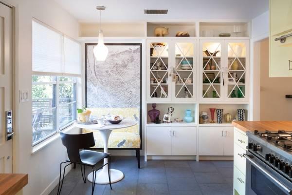 Как оформить стену в обеденной зоне на кухне - 30 фото
