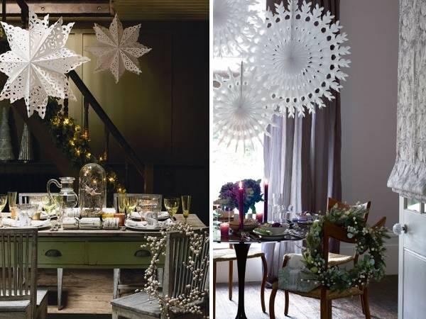 Украшение новогоднего стола своими руками - фото поделок в интерьере