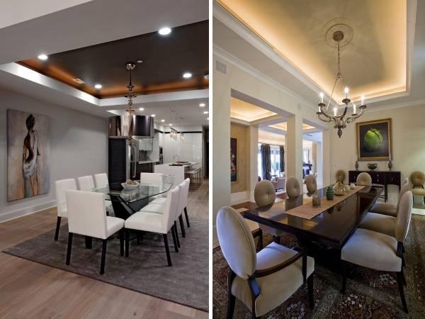 Как сделать подсветку потолка светодиодной лентой красиво