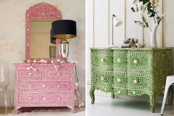 Мебель своими руками под интерьер в индийском стиле