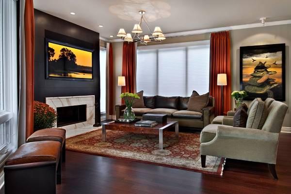 Как подобрать шторы к обоям разного цвета - фото лучших идей
