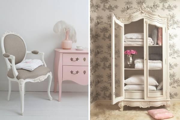 Красивая мебель для спальни в стиле прованс - примеры на фото