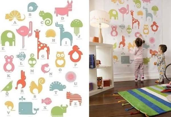 Детские обои для стен для девочек самого маленького возраста