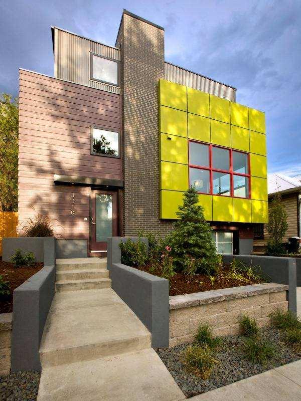 Строительство дома в стиле хай тек из сип панелей