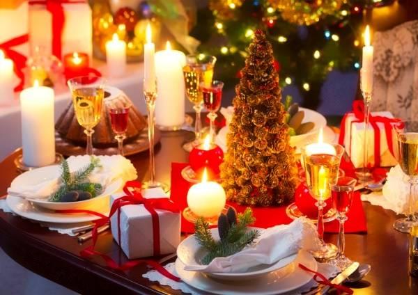 Декор новогоднего стола - лучшие идеи сервировки