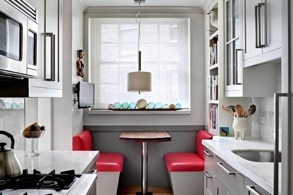 Как оформить обеденную зону на маленькой кухне - 30 фото