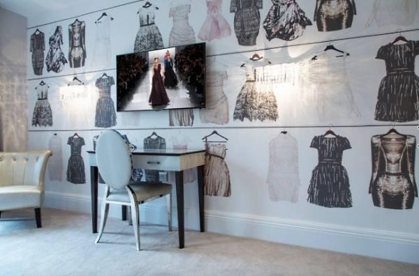 Обои для детской комнаты для девочек подростков на тему моды