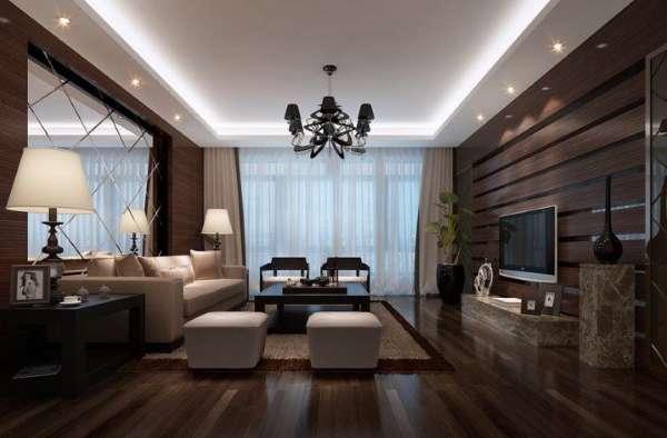 Панели из дерева для отделки стен в стиле luxury