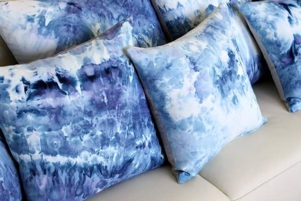Красивые наволочки для диванных подушек, сделанные своими руками