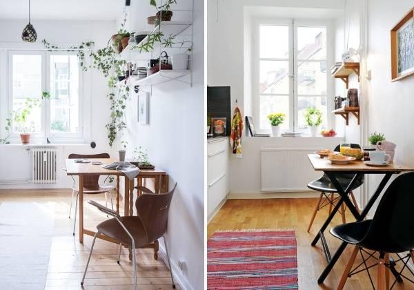 Раскладной обеденный стол для кухни