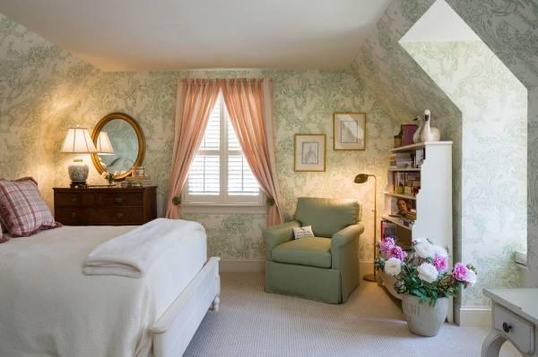 Какие шторы подойдут к зеленым обоям - фото сочетания для спальни