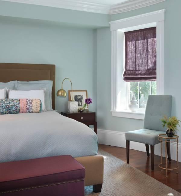 К каким обоям какие шторы подойдут - фото в спальне