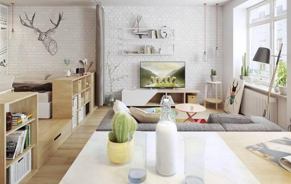 skandinavskiy-dizayn-kvartiry-studii-gostinaya