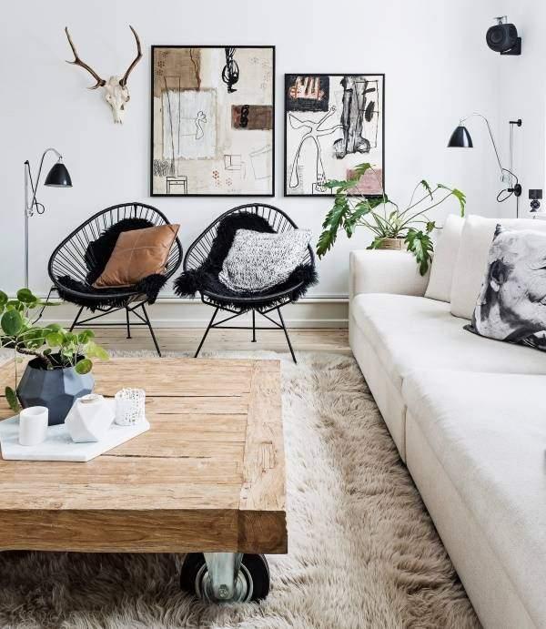 Модный дизайн интерьера 2016 в скандинавском стиле