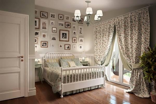 спальня в стиле прованс 40 фото шикарных интерьеров