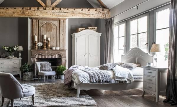Дизайн спальни в стиле прованс - фото с идеями декора