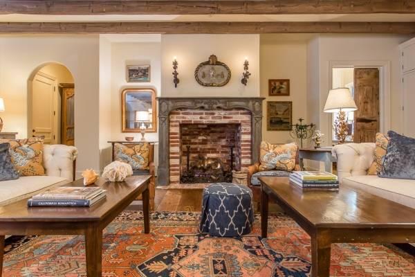 Стили интерьеров - прованс гостиная на фото