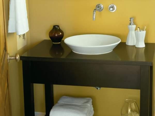 Стол тумба под раковину в ванной своими руками