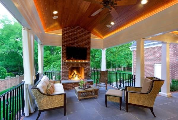 Красивые деревянные потолки с подсветкой своими руками