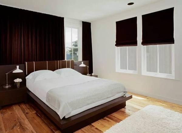 Дизайн штор для спальни - фото модные новинки из бархата