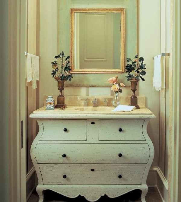 Шикарная тумбочка под умывальник в ванную своими руками