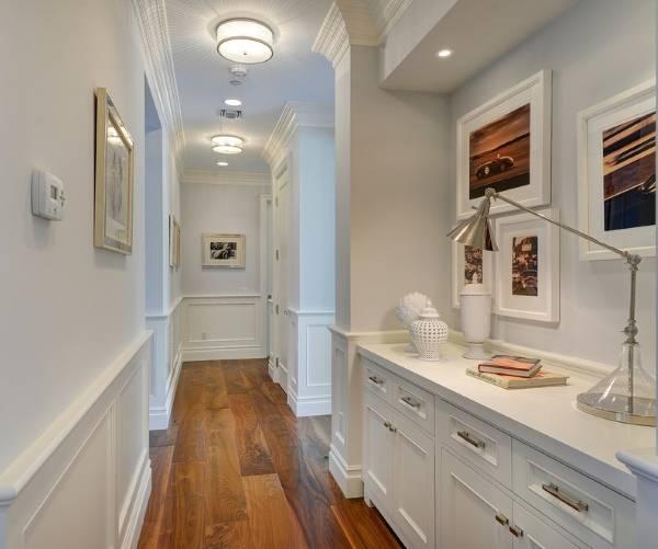 Узкий коридор - дизайн фото