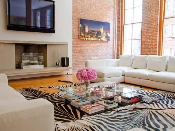 Модные ковры для гостиной - фото лучших рисунков