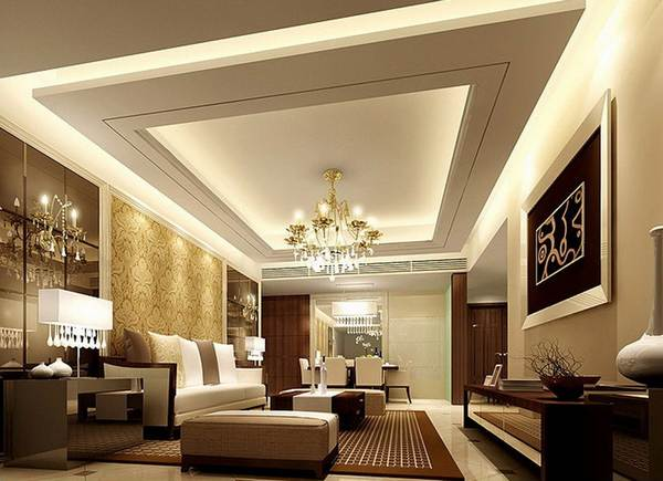 Дизайн потолков гипсокартонных фото