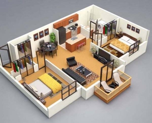 Программа для интерьеров FloorPlan 3D