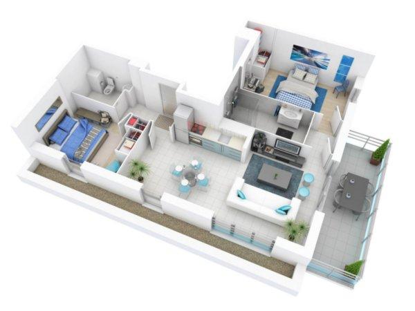 Программа для дизайнеров FloorPlan 3D