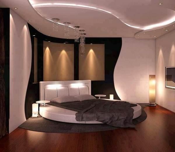 Дизайн потолков из гипсокартона на фото