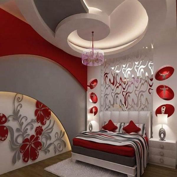 Варианты дизайна потолков из гипсокартона