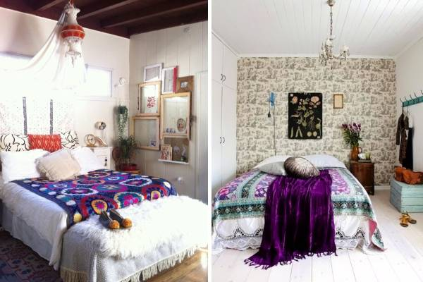 Спальня в стиле бохо - фото лучших идей