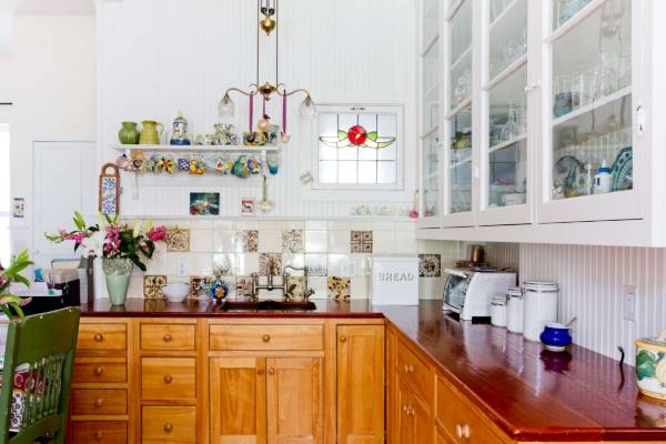Стиль бохо в интерьере кухни - фото красивого дизайна