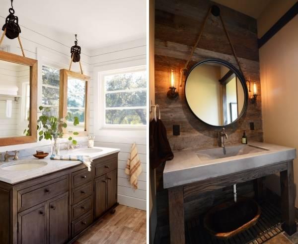 Декор маленькой ванной комнаты - фото лучших идей