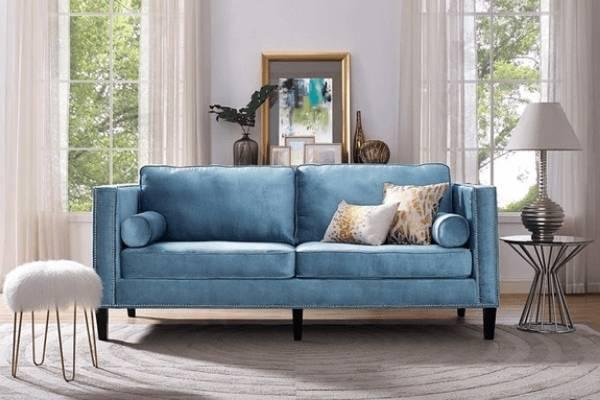Какой цвет модный в 2017 году - синий оттенок Ниагара на фото