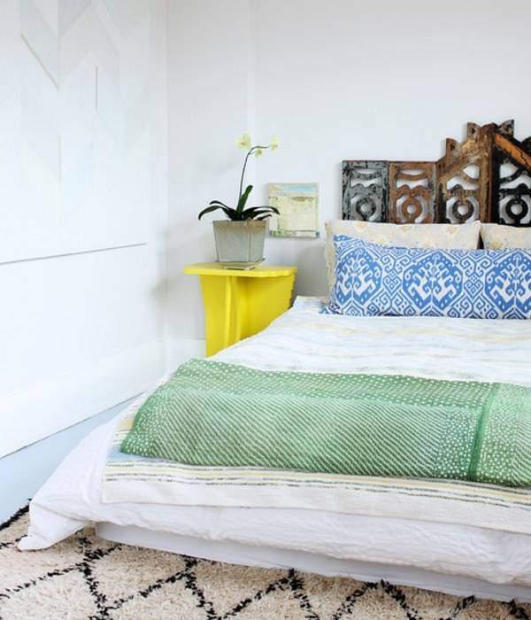 Модная спальня 2017 в богемном стиле