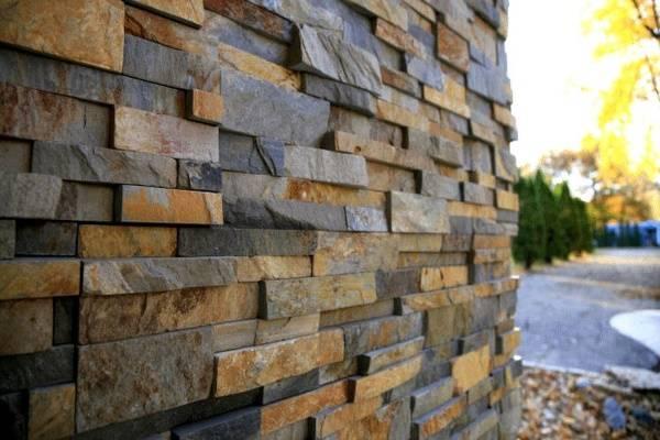 Unabhängig Davon, Welche Variante Sie Sich Entscheiden,  Fassadenverkleidungen Aus Stein Verleihen Ihrem Zuhause Ein
