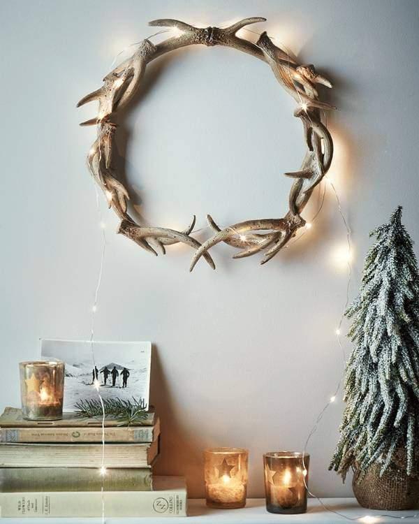 Новогодние гирлянды светодиодные для дома - способы украшения
