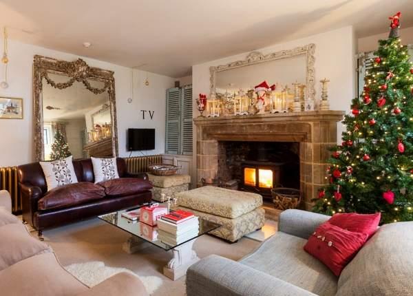 Идеи новогоднего интерьера - лучшие фото для вдохновения