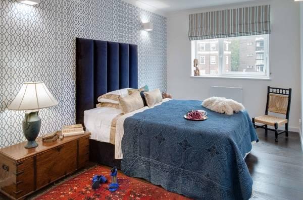Необычный дизайн спальни - фото 2017