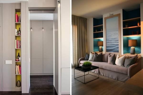 Маленькое пространство: как визуально увеличить комнату?